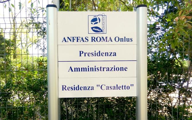 Segnaletica esterna / outdoor Roma
