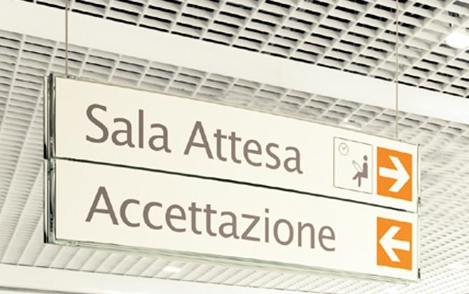 Segnaletica interna / indoor Roma